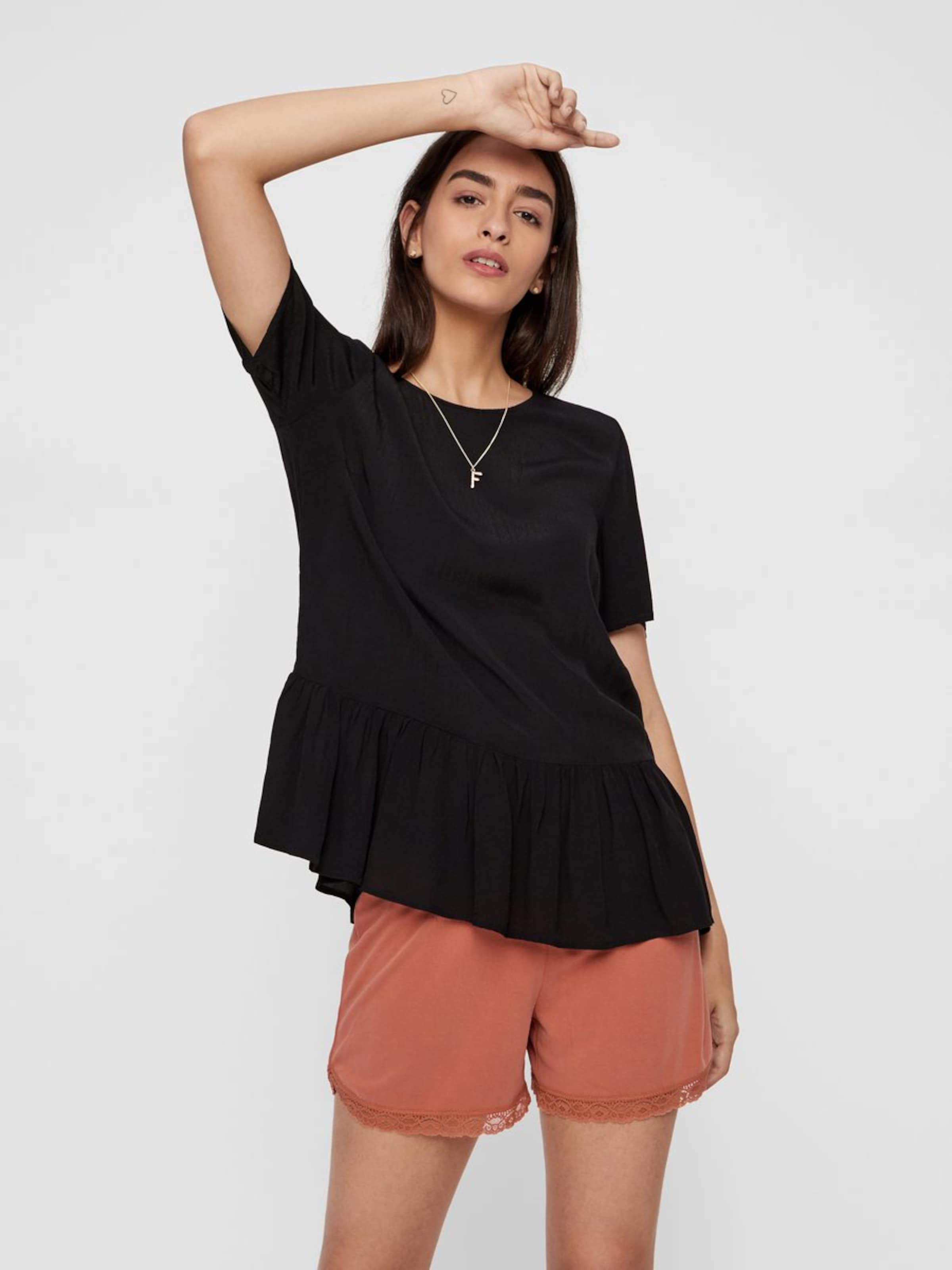Pieces Bluse In In Bluse Schwarz Pieces oxrBedCW