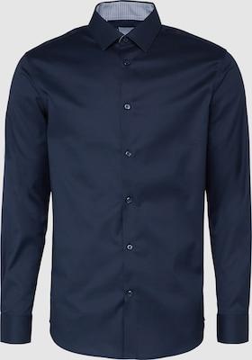 SELECTED HOMME Zakelijk overhemd 'SHDONENEW-MARK' in Navy