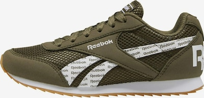 Reebok Classic Sneaker in oliv / weiß, Produktansicht