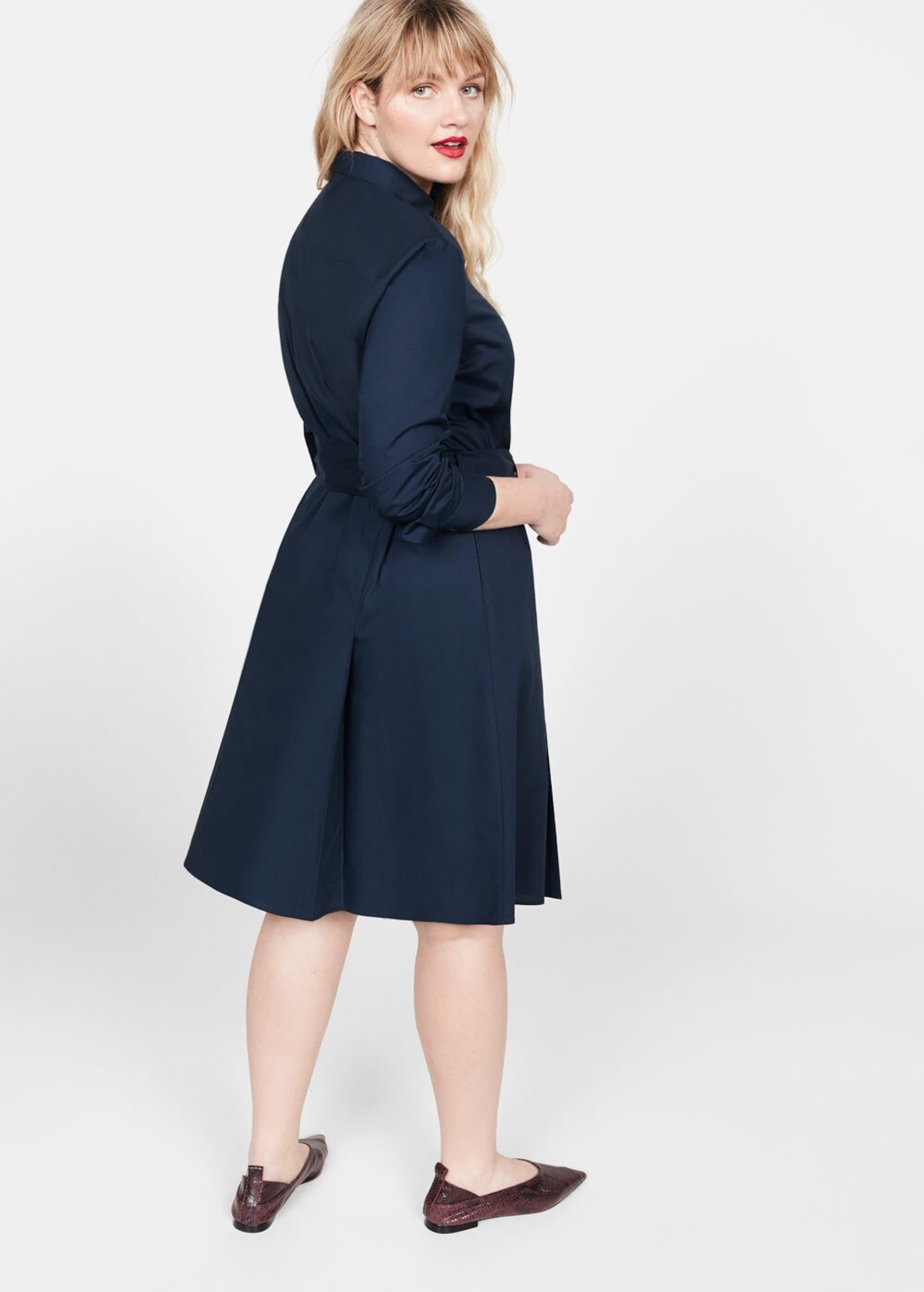 Mango Kleid In By Violeta Nachtblau 'human5' RLSc54A3jq