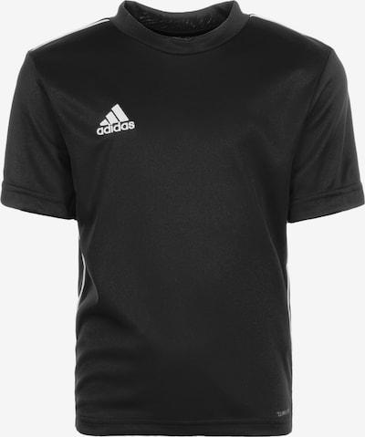 ADIDAS PERFORMANCE 'Core 18' Trainingsshirt in schwarz / weiß, Produktansicht