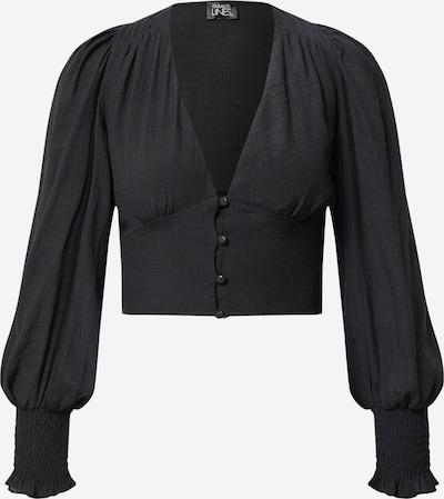 Parallel Lines Blouse in de kleur Zwart, Productweergave