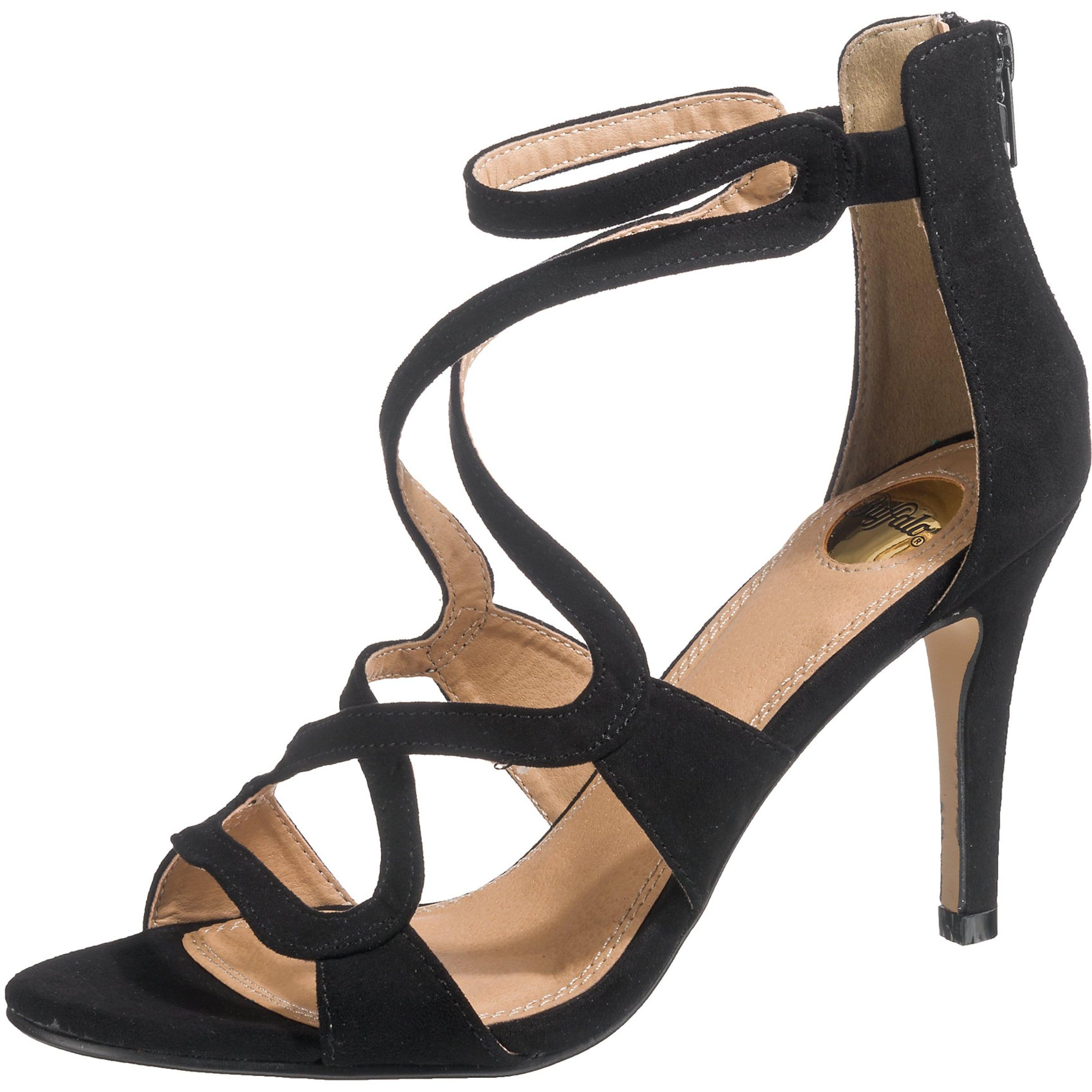 BUFFALO Riemchensandaletten Verschleißfeste billige Schuhe Hohe Qualität