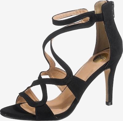 BUFFALO Sandalen in schwarz, Produktansicht