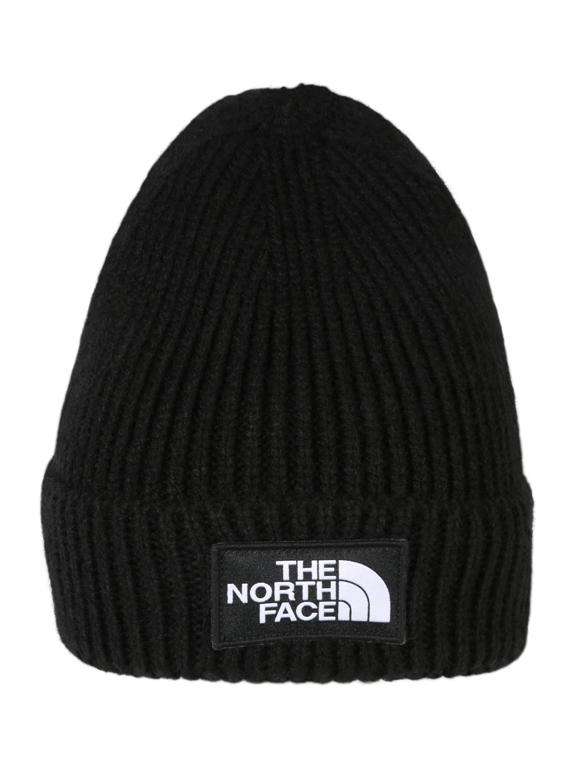 'logo In Beanie The Face Box North Schwarz Cuffed' Y6fgvby7