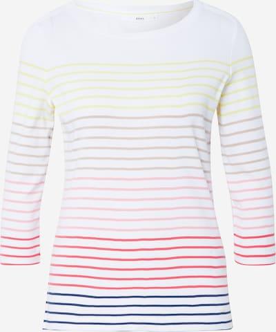 BRAX Shirt 'Colletta' in mischfarben / weiß, Produktansicht