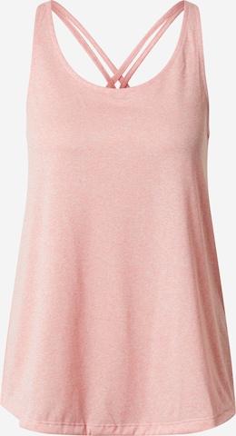 ADIDAS PERFORMANCE Sport top - rózsaszín