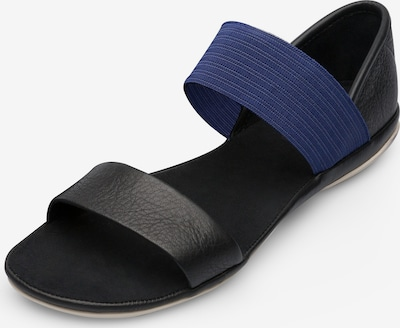 CAMPER Sandalen 'Right' in blau / schwarz, Produktansicht