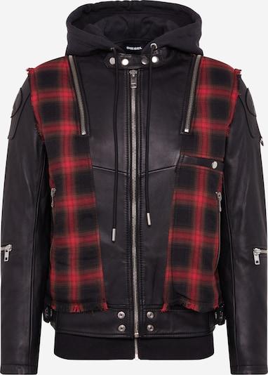 DIESEL Přechodná bunda 'L-NORMAN JACKE' - červená / černá, Produkt