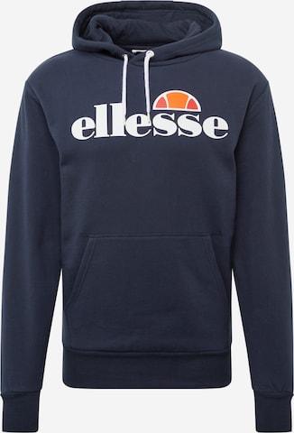 ELLESSE Mikina - Modrá