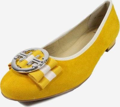 ARA Ballerina in gelb / weiß, Produktansicht