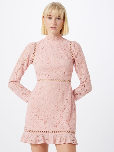Fashion Union Kleid 'GENRY' in rosa, Modelansicht