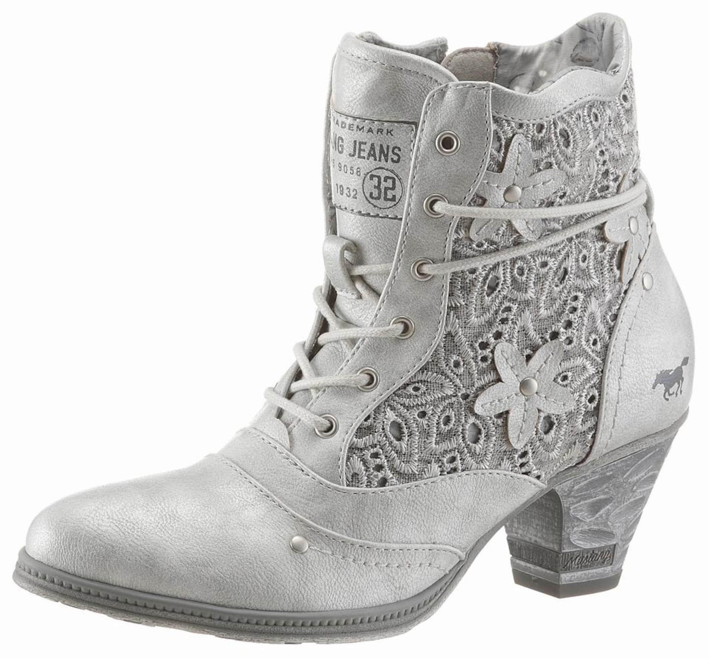 Haltbare Mode billige Schuhe MUSTANG | Shoes Schnürstiefelette Schuhe Gut getragene Schuhe