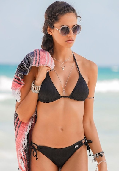 BUFFALO Bikini u crna, Prikaz modela