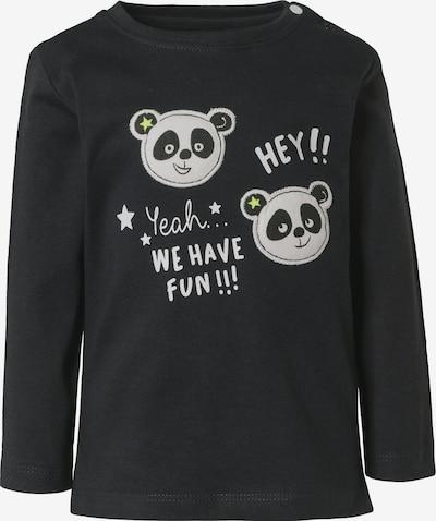 STACCATO Shirt in hellgrau / schwarz, Produktansicht