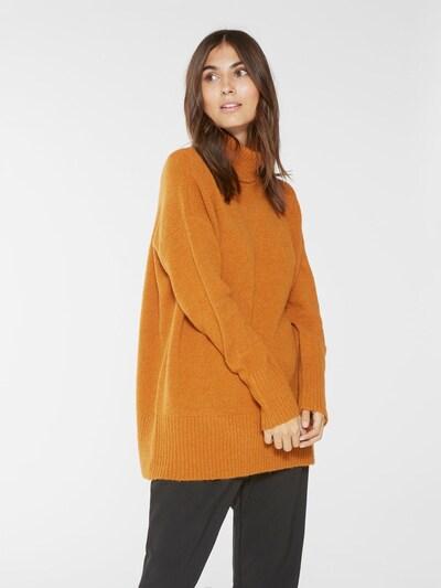 Y.A.S Pullover in rostbraun, Modelansicht