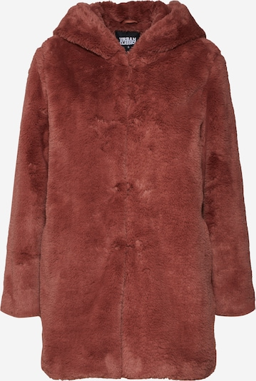 Urban Classics Manteau mi-saison en rouge rouille, Vue avec produit