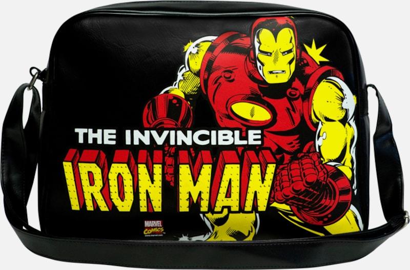 LOGOSHIRT Tasche 'Iron Man �?Marvel Comics'