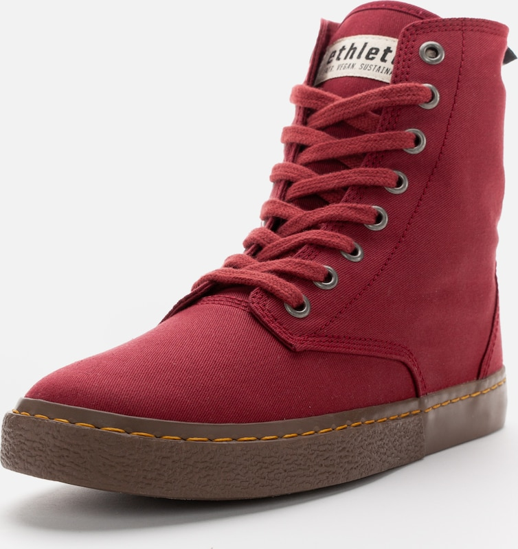 Ethletic Sneaker in rot, Produktansicht