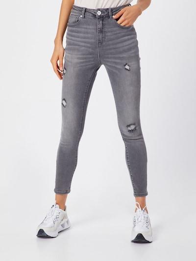 ONLY Jeansy 'MILA' w kolorze antracytowym, Podgląd na modelu(-ce)