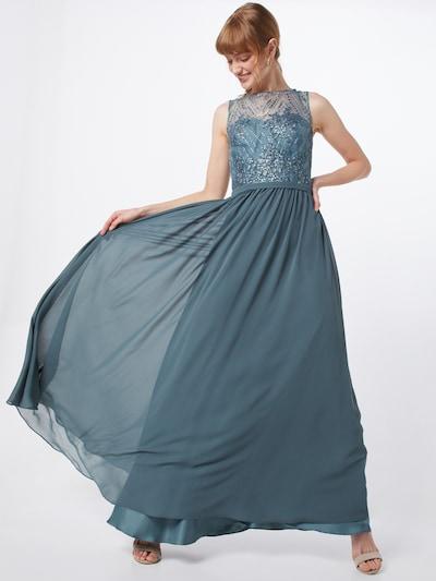 mascara Společenské šaty 'PEARLS' - modrá, Model/ka