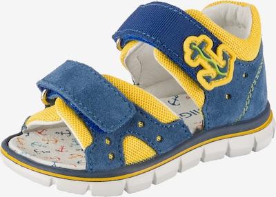 PRIMIGI Sandale in taubenblau / gelb, Produktansicht