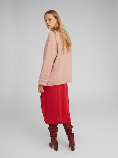 EDITED Pullover 'Lou' in pink: Rückansicht