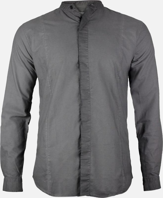 Trueprodigy Hemd 'Dave' in dunkelgrau  Neue Kleidung in dieser Saison