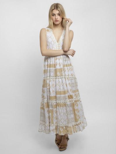 APART Sommerkleid in gold / weiß, Modelansicht