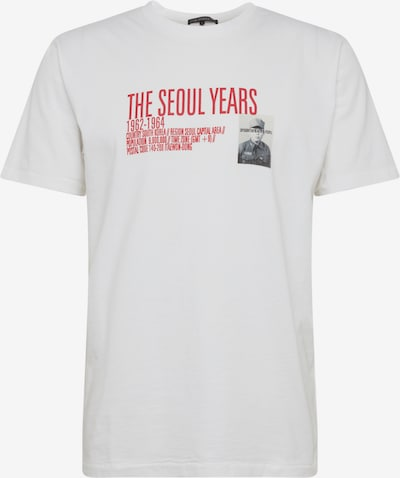 DRYKORN T-Shirt 'SAMUEL SEOUL' in weiß, Produktansicht