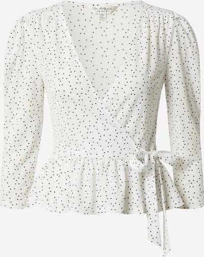 Miss Selfridge Bluza 'LS SPOT WRAP TP' u crna / bijela, Pregled proizvoda