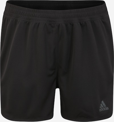 ADIDAS PERFORMANCE Funktionsshorts »3 STRIPES KNIT SHORT« in schwarz, Produktansicht