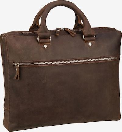 LEONHARD HEYDEN Laptoptas ' Salisbury 7663 Kurzgrifftasche ' in de kleur Bruin, Productweergave