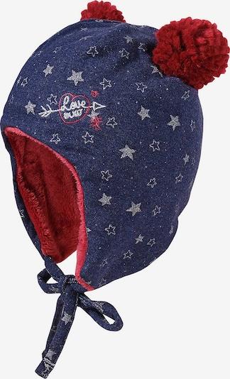 MAXIMO Mütze in nachtblau / rot / weiß, Produktansicht