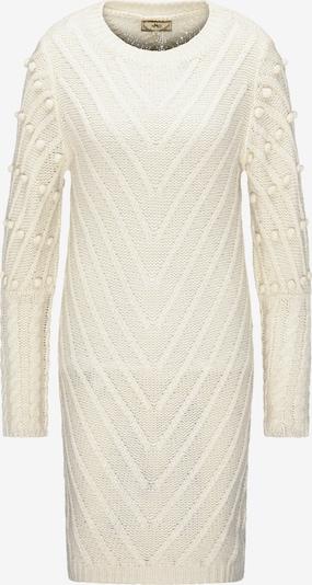 MYMO Strickkleid in weiß, Produktansicht
