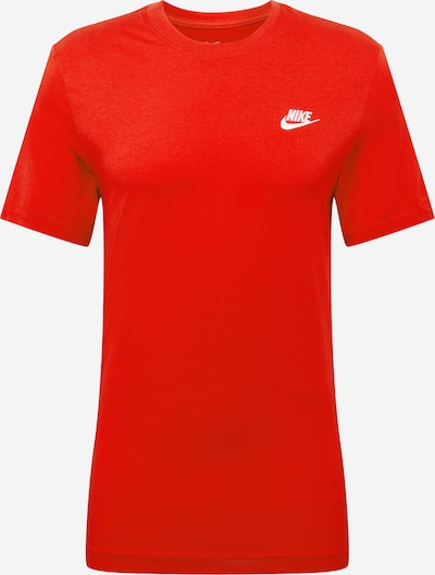 Nike Sportswear Shirt 'CLUB TEE' in rot, Produktansicht