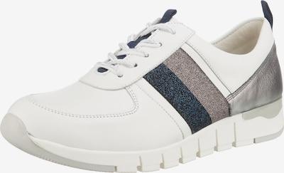 WALDLÄUFER Sneaker 'H-petra' in blau / silber / weiß, Produktansicht