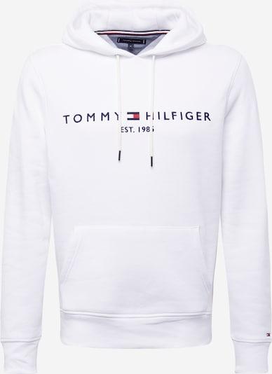 TOMMY HILFIGER Hoodie in navy / weiß, Produktansicht