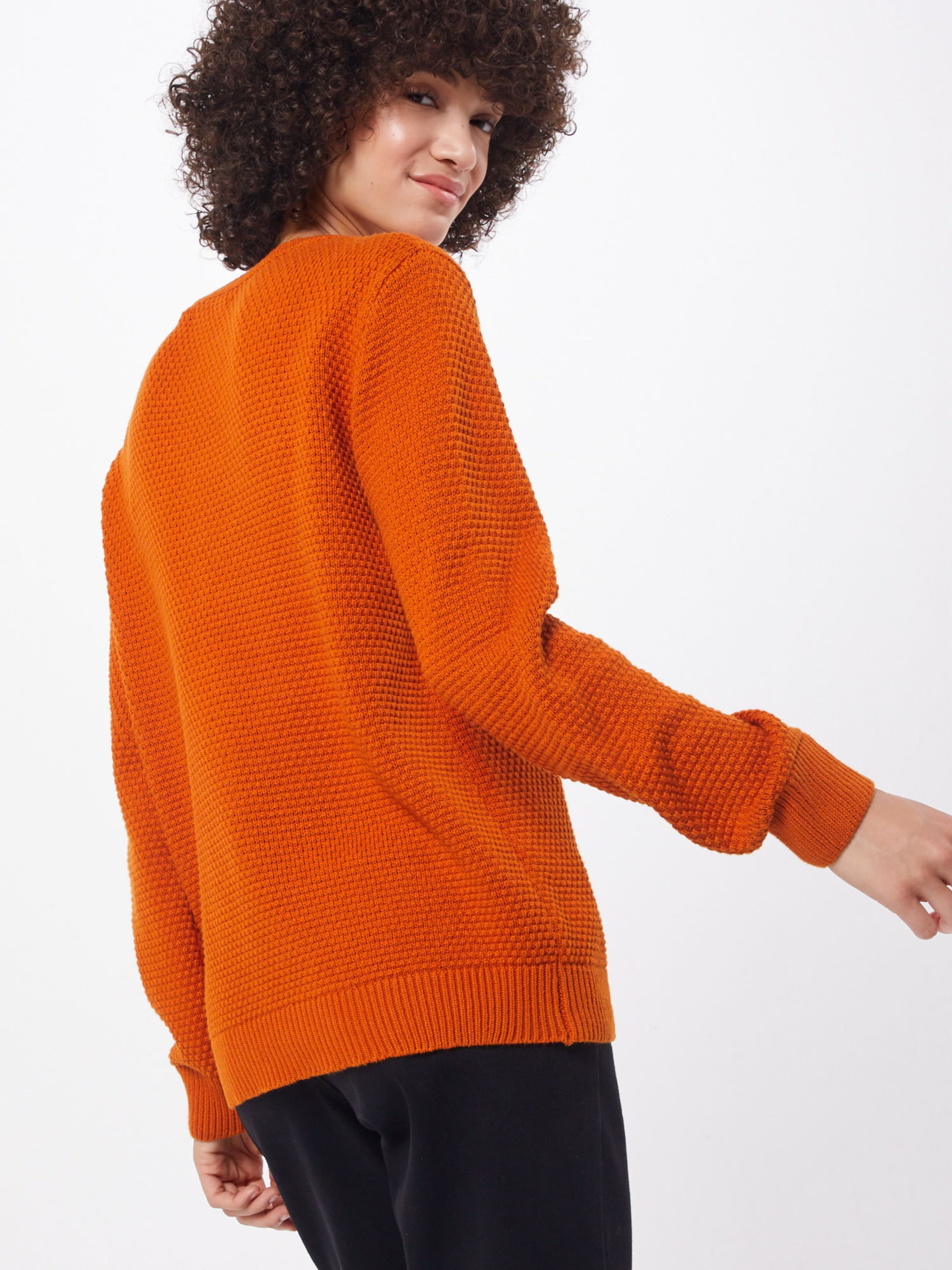 B young 'mikala' In Pullover Orange nv0N8wm