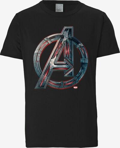 LOGOSHIRT T-Shirt 'Avengers - Age Of Ultron' in schwarz, Produktansicht