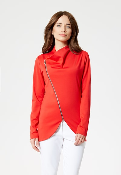 Usha Pull-over en rouge: Vue de face