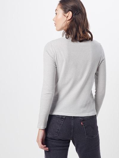 LEVI'S Bluzka sportowa 'LS BABY TEE' w kolorze szary / czerwony / białym: Widok od tyłu