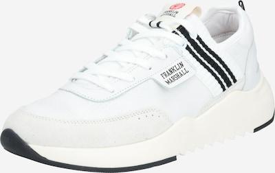 FRANKLIN & MARSHALL Sneakers laag 'ALPHA HOLES' in de kleur Zwart / Wit, Productweergave