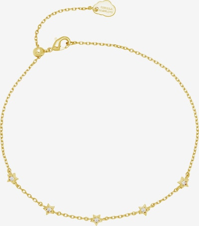 Estella Bartlett Armband 'Mini Star CZ Chain' in de kleur Goud, Productweergave
