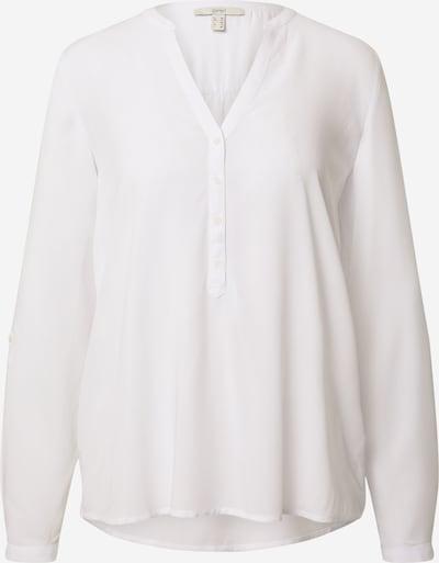ESPRIT Bluzka 'Core' w kolorze białym: Widok z przodu