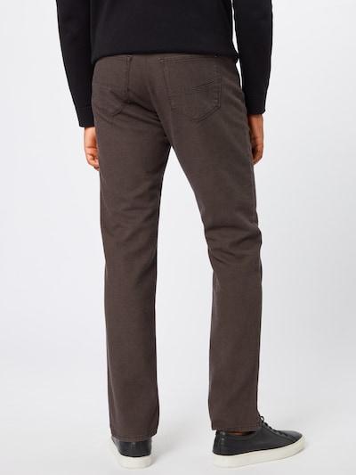 Kelnės 'cadiz' iš BRAX , spalva - ruda: Vaizdas iš galinės pusės