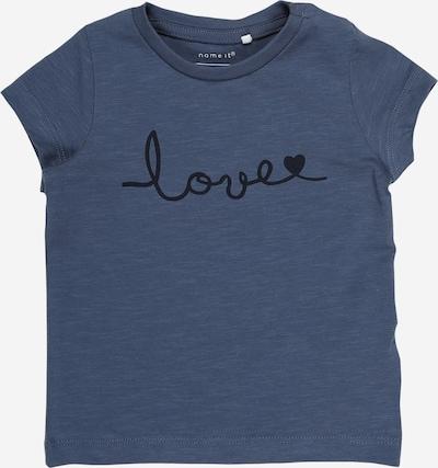 NAME IT Shirt 'Fleur' in de kleur Navy / Nachtblauw, Productweergave