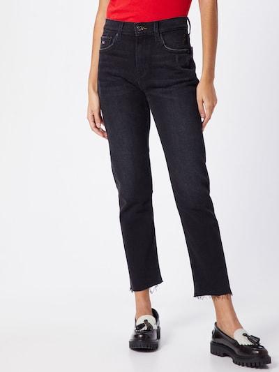 Tommy Jeans Jeans 'Izzy' in grau / schwarz, Modelansicht