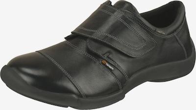 Binom Klettschuh in schwarz, Produktansicht