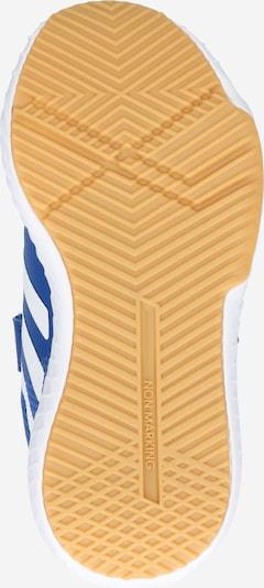 Pantofi sport 'FortaGym CF K' ADIDAS PERFORMANCE pe albastru / portocaliu: Privire de sus